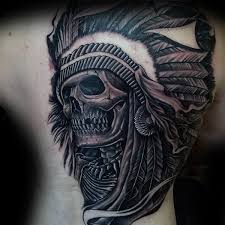80 indian skull designs for tattoos for