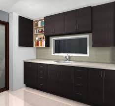ikea black brown kitchen cabinets custom cabinets a shallow cabinet for spice storage ikdo