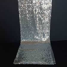 silver sequin table runner the white emporium