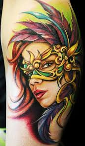 cool mardi gras masks 19 mardi gras tattoo images pictures and ideas