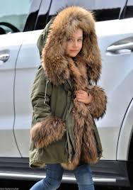 american parka with fur kids military parka coat finnraccoon