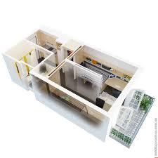 exellent studio apartment plans 3d princess palace conversion in studio apartment plans 3d