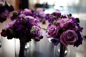 purple bouquets a gorgeous november wedding with purple bouquets erin