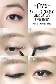 liquid eyeliner tutorial asian 45 best monolid makeup images on pinterest monolid makeup asian