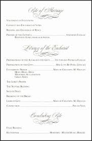 catholic mass wedding program traditional wedding program templates gallery exle