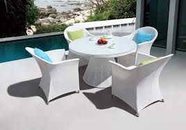 White Plastic Patio Table by Round Plastic Patio Table And Chairs Astonishing White Round