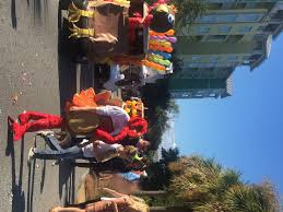 dunes thanksgiving day golf cart parade charleston events