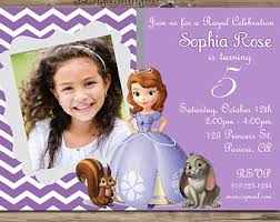 sofia the first birthday invitations sofia the first birthday