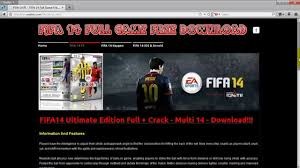 fifa 14 full version game for pc free download how to download fifa 14 full game free pc ps3 xbox 360