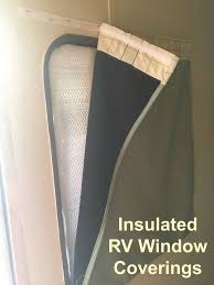 Rv Mini Blinds Rv Window Coverings For And Cold Control The Temperature In