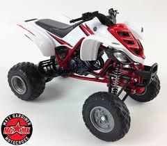 toy motocross bike yamaha raptor 660r 1 12 die cast atv quad motorbike toy model bike