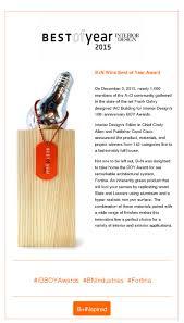 Interior Design Magazine Awards by B N Industries Wins Best Of Year Award From Interior Design