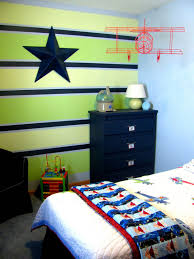 love the colors on that striped wall boys room design ideas in