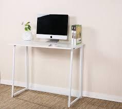 Compact Computer Desks For Home Cherrytree Furniture Compact Flip Flop Folding Computer Desk Home