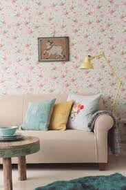 Shabby Chic Style Wallpaper by Living Room Wallpaper Ideas Shabby Chic Style Living Room