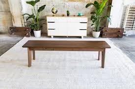 midcentury modern modern walnut bench midcentury modern bench walnut bench