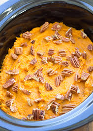 healthy cooker sweet potato casserole kristine s kitchen