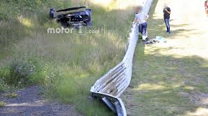 koenigsegg crash koenigsegg one 1 crashes on the nürburgring