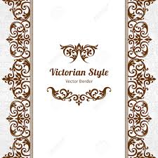 Victorian Design Style by Vector Ornate Seamless Border In Victorian Style Gorgeous Element
