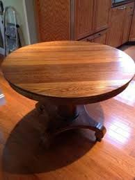 Cooper Round Dining Table Ethan Allen I Like The Two Tone - Antique round kitchen table