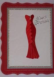 sewing cards templates iris folding gown card bjl fashion pinterest iris folding