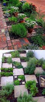 Herb Garden Layout Ideas The Checkerboard Herb Garden Even If It Rains You Can Get To Your