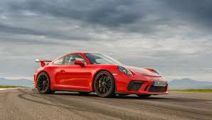 porsche gt3 bask in the track day of the 2018 porsche 911 gt3