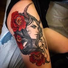 Off The Map Tattoo Jeff Norton Tattoo U2014 Finished Up This Nxy Nott Goddess On Marni