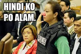 Janet Napoles Memes - nakakata quotes the di ko po alam kay yolanda edition