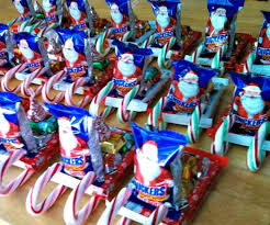 Christmas Crafts For Classroom - diy candy santa sleighs great classroom treats u0026 more for kids