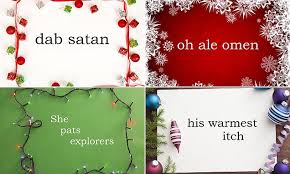 can you guess the iconic christmas movie by an anagram of its name