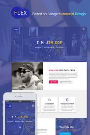 Best Resume Website Templates Flex Portfolio U0026 Resume Website Template 65538