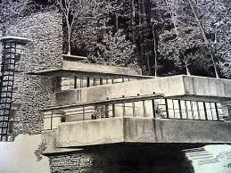 rendering of falling water frank lloyd wright redwan ruben