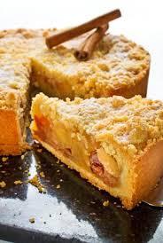 cuisine et mets tarte pommes et bananes façon crumble les recettes de cuisine et