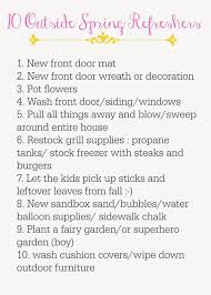 What Is Spring Cleaning Chicken Scratch April 2015