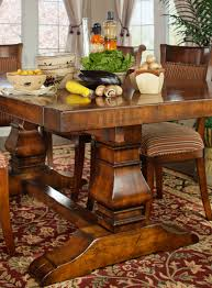 Tuscan Dining Room Chairs Tuscany Trestle Dining Table Dau Furniture