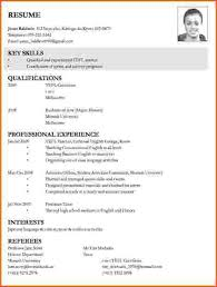 Sample Resume For Lecturer Job by Sample Resume For Applying Teaching Job Best Resume Collection