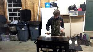 Backyard Hibachi Grill by How To Clean A Hibachi Grill Youtube