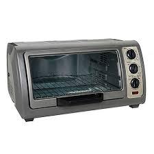 Black Decker 6 Slice Toaster Oven Hamilton Beach 6 Slice Easy Reach Convection Oven Bed Bath U0026 Beyond