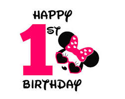 minnie mouse 1st birthday minnie mouse svg etsy
