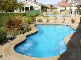 Backyard Swimming Pool Ideas Small Backyard Inground Pool Design With Fine Small Pool Designs