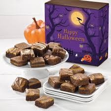 halloween gift baskets halloween pumpkin spice morsel 24 halloween gourmet brownie gift