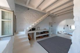 Modern Home Interiors Restored 17th Century Stone House In Greece With Modern Aesthetics