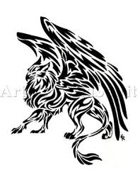 new tattoo tribal tattoo tiger eagle design