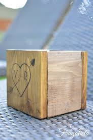 Wooden Centerpiece Boxes by Diy Rustic Wedding Centerpiece Boxes The Interior Frugalista