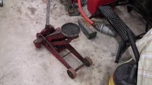 Sears Hydraulic Jack Parts by Hydraulic Floor Jack Repair Part 1 Youtube