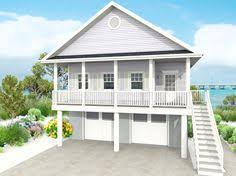 Homes On Pilings Beach House Plans U0026 Coastal Home Plans U2013 The House Plan Shop