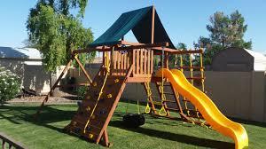 residential swing sets arizona backyard company