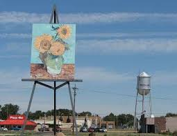 Kansas travel watch images 58 best world 39 s largest painting on an easel images jpg