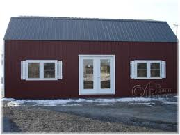 Gambrel Style Roof 2 Story Double Wide Modular Garages And Sheds The Barn Raiser